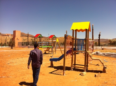 Playgrounds Equipments Instalation in Guelmim, Morocco